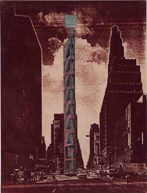 Times Square Tower: Project NYC, New York Raimund Abraham 1984