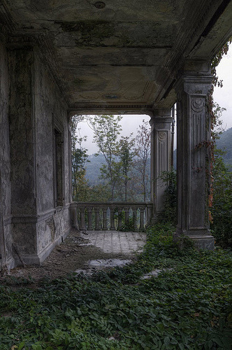 miamidnight:  Abandoned Mansion #3 (by Nikontento)