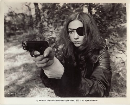 Christina Lindberg in Thriller - A Cruel Picture / They Call Her One Eye (Bo Arne Vibenius, 1974) (via tree-stump-palace, kabuky)