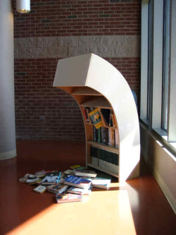The Sad Bookcase. http://redfstudios.com/sculpture.aspx