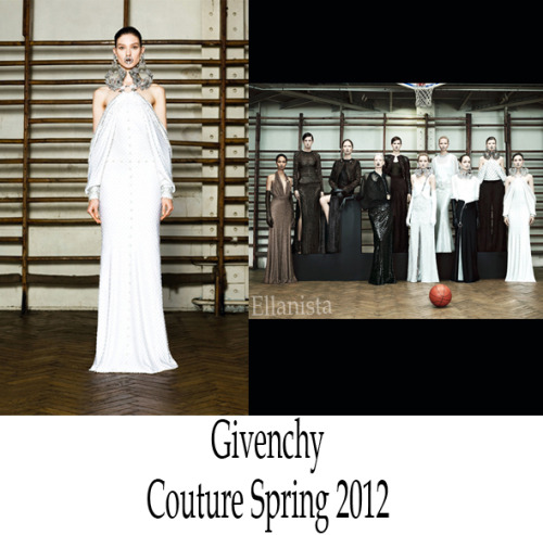 Paris Haute Couture: Givenchy Spring 2012 Inspiration: Riccardo Tisci drew from the 20s and 30s and the film Metropolis