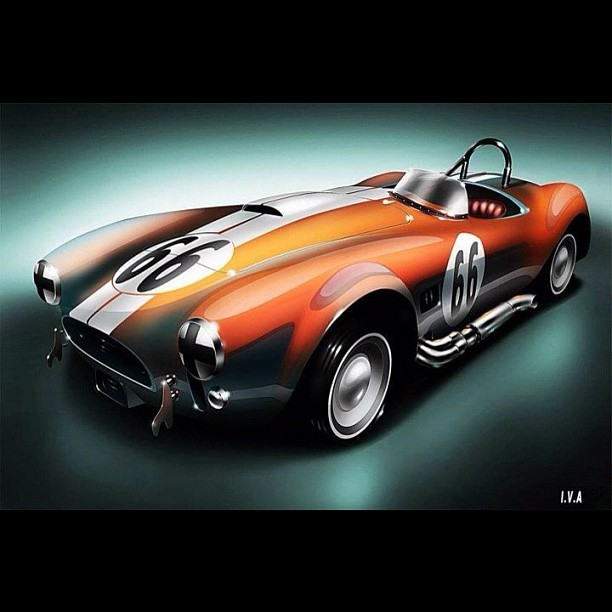 Shelby Cobra 427, I luv it!!!! #car #musclecar #shelby #cobra #427 #stripe #friki #geek #freak #nerd #girona #spain #winter #nofilter #igers #igersgirona #igersspain #iphonesia #instagramhub #photooftheday #art #instagram #instamood #bestoftheday #picoftheday #igdaily #jj    (Taken with instagram)