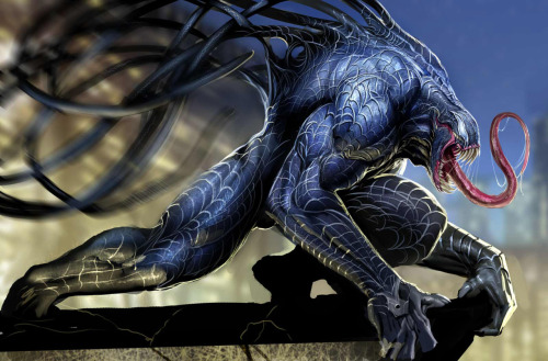 Realistic Venom equals Boss.  By: nebezial