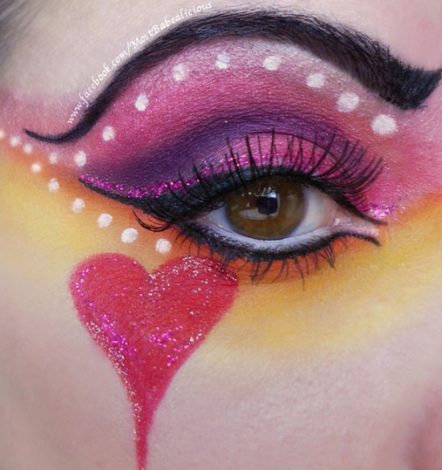 Beautylish Beauty Angela J. is going all out for Valentine's Day with her Queen of Hearts look!