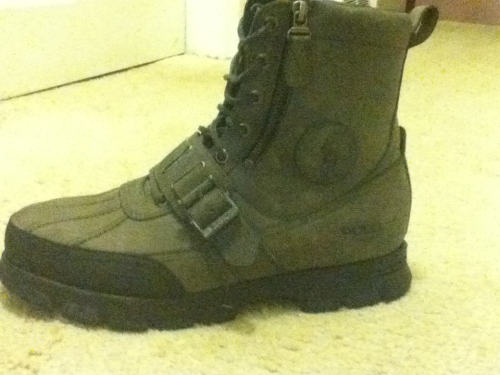 New polo boots #Ryota Ralph Lauren