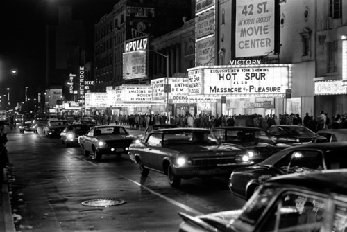 superseventies:  42nd Street, New York City, 1970s.