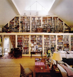 Private home library