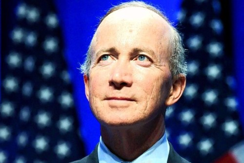 christiannightmares:  Indiana Gov. Mitch Daniels: 'Atheism leads to brutality' and the purpose of life is 'to glorify God and enjoy Him forever' (To read the article from 2009, click image or here)  That sounds like a euphemism for gay sex.