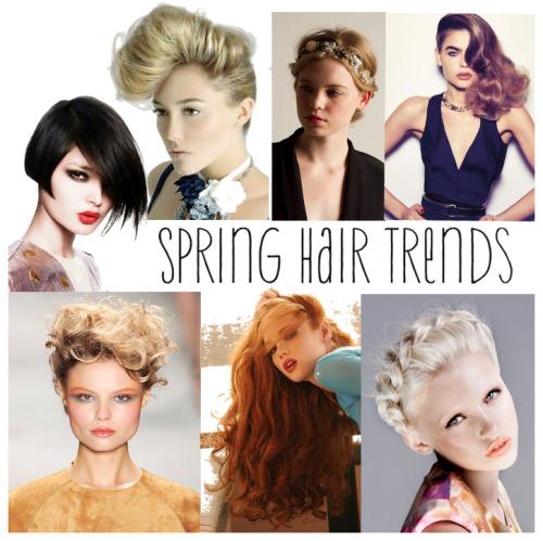 Spring 2012 Spring hair trends hair fashion runway hairstyle braids blonde hair copper hair red hair long hair updo fancy hair trend carlton hair carlton hair brea