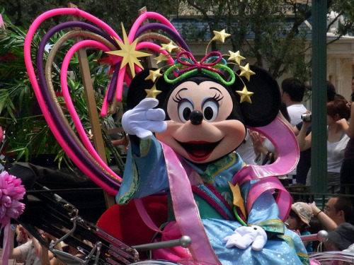 fuckyeahdisneyentertainment:  七夕グリーティング(Tanabata Greeting) by kumakichi on Flickr.