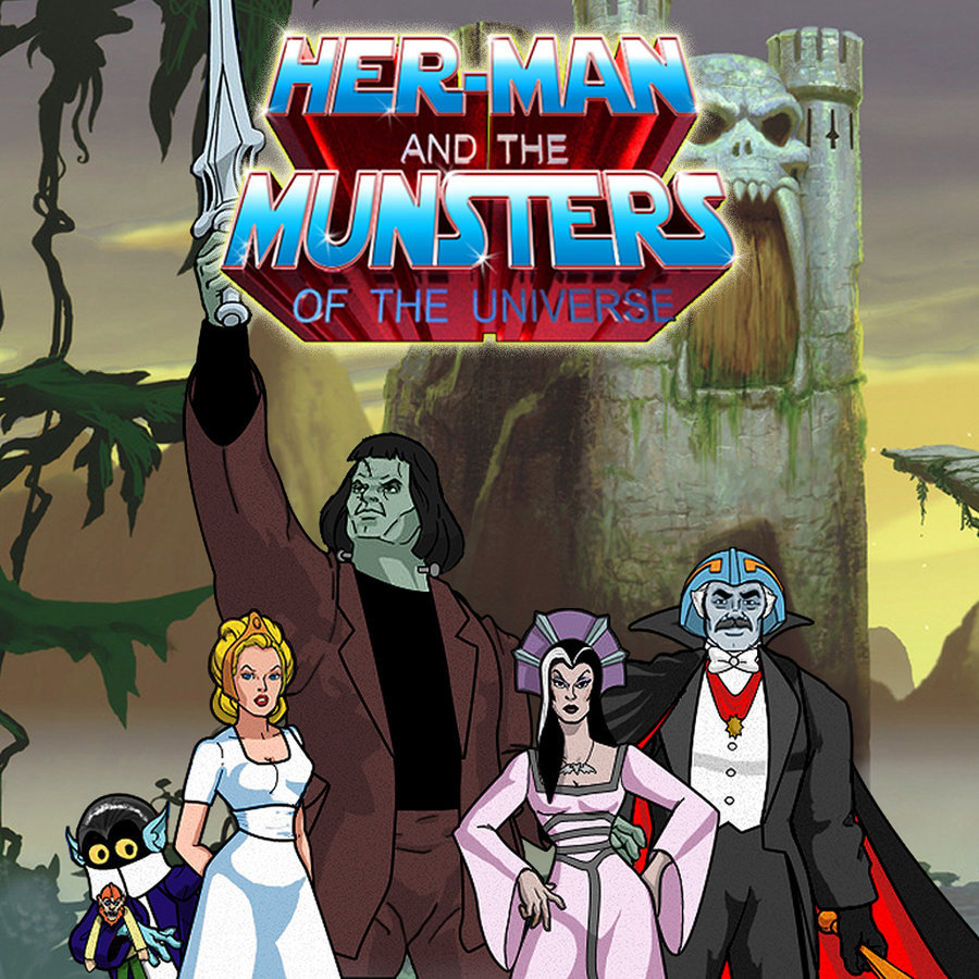 sexandmonsters:  Munsters of the Universe by ~javiperillas