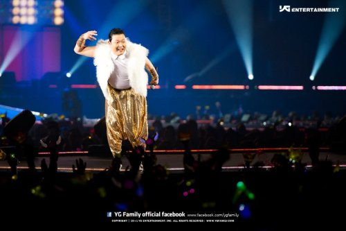 PSY's Official Photo from  2012 YG Family Concert @ Saitama Arena Japan