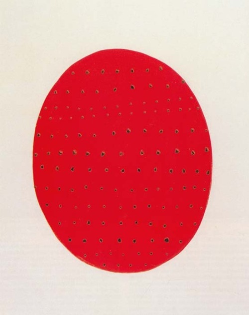 howdoyoudotoday:  Concetto Spaziale, 1962—Fontana Love him!