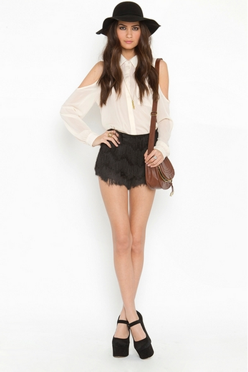 what-do-i-wear:  Camilla Fringe Shorts $68.00