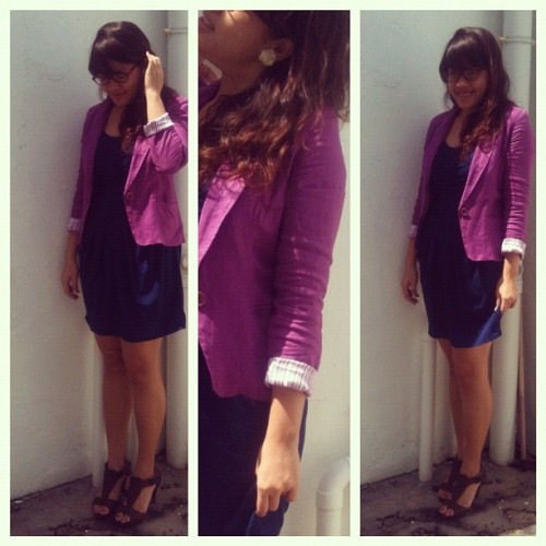 Mixing strong colours. #ootd (Taken with instagram)