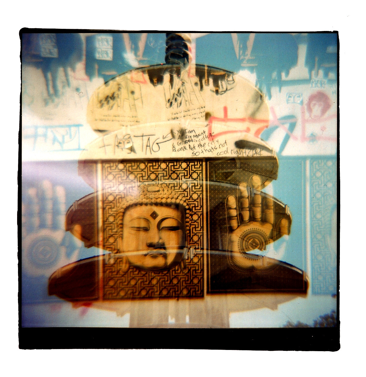 Taken with my Diana+ Dreamer in San Francisco.