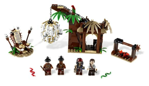 "zomganthro:  ""The Cannibal Escape"" by Lego Alright anthropologists, have at it."