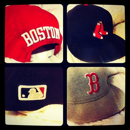 #baseball #boston #redsox #sox #bostonredsox #iphoneography #ink361 #iPhone #iphone4 #photooftheday #instagram #iphonephotography #iphonesia #instagramhub #webstagram #instago #igdaily #ignation #instagramers #instadaily #instagood #iphoneonly #hats #snapbacks #newera (Taken with instagram)