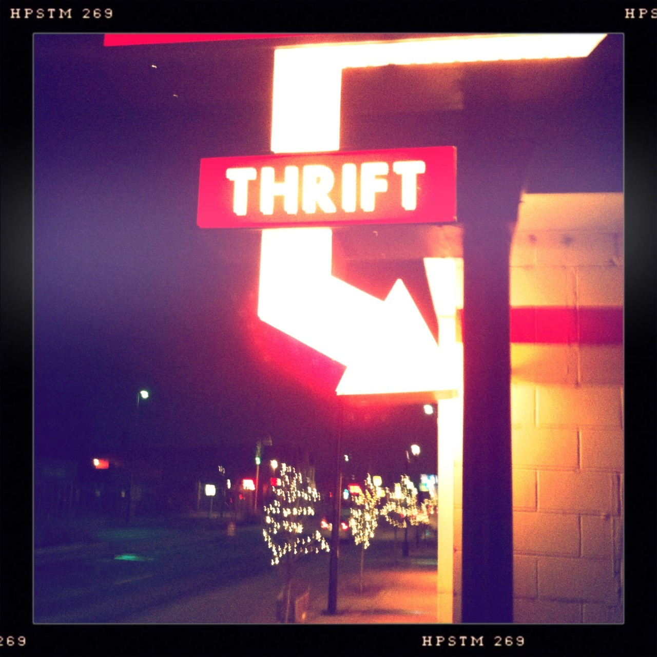 Thrift Taken with Hipstamatic, Lucas AB2 Lens, Pistil Film, No Flash.
