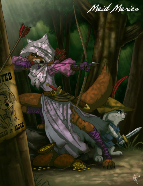 Twisted Princess: Maid Marian by ~jeftoon01