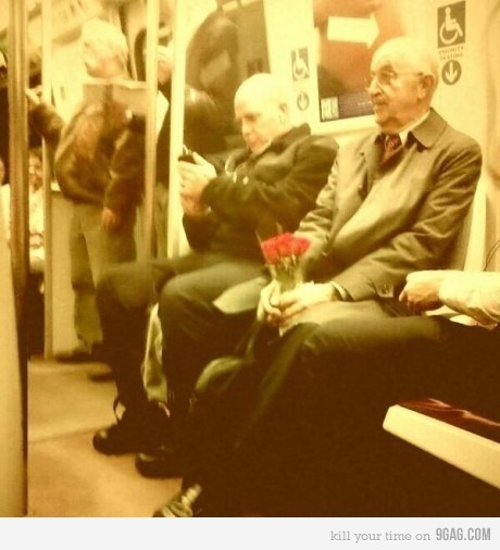 9gag:  47 Years of Marriage, still buys her flowers every Monday