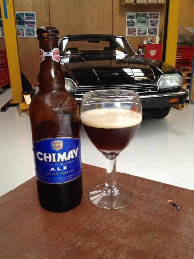 Chimay Grand Reserve (Blue Cap) To me, the Chimay Grand Reserve provides a pretty good benchmark for a Belgian Dubbel. It's not extraordinary, leave that for the Trappistes Rochefort 10, but it's certainly one to come back to time and time again. The Dubbel is quintessentially a dark belgian strong ale, edging up towards the double digits in the alcohol by volume department (not that Dubbel dubbed its name from this). Being one of the few actual 'Trappist' beers, Chimay is proudly brewed by the monks at the Scourmont Abbey. I'd like to say that the monk's sole purpose in life is to uphold the name of Belgian beers and provide a bloody awesome product, but that's a lie… they do other stuff too. One thing you might not have known is the revenue from the beer goes back to the community, which makes us good people for drinking good beer! The Grand Reserve pours a rich amber brown with a slightly tanned head. It's got a chocolatey caramel nose with a tad of dried dark fruit. The best way to describe the taste is seamlessly smooth. From start to finish the smooth caramel-iness just rolls across the tongue, which may come from the higher percentage. However, weighing in at 9%, you definitely wouldn't say that it's too overwhelming or in your face. Behind the caramel, you get hints of dark fruits, as well as a subtlety of sweet spice, giving a voluptuous, well balanced ale.  As I mentioned, this is a beer you keep coming back to, I know I do. Luckily it's quite easy to come by too. BWS are currently getting rid of their stock, so I bought this one at $10 for a 750mL bottle! But I doubt they'll last long at that price, so you're looking to spend about $18. RS