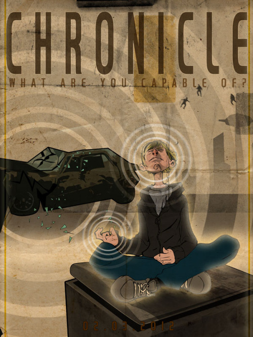 dddraw:  i made a fan poster:)  …and we love it. Send yours to chronicle.tumblr@gmail.com for the chance to have it featured.