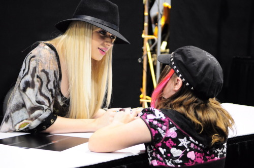 Orianthi Signing at the NAMM 2012