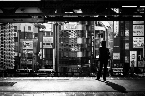 [160yen - A day on the Yamanote line] - Shinbashi - 16:15 by fabuchan on Flickr.