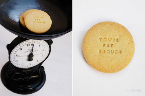 Diet biscuits These mean biscuits have a precise purpose: to discourage you from eating them.