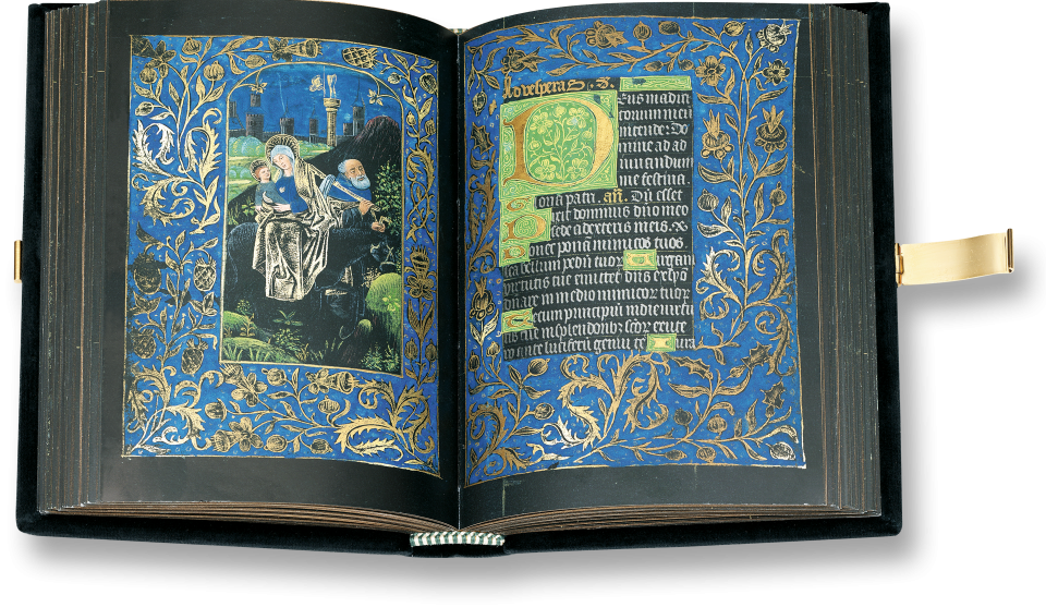 Black Book of Hours  15th  Century - Pierpont Morgan Library, New York, M. 493