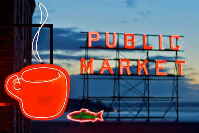 17/365 Seattle neons by zoosee on Flickr.