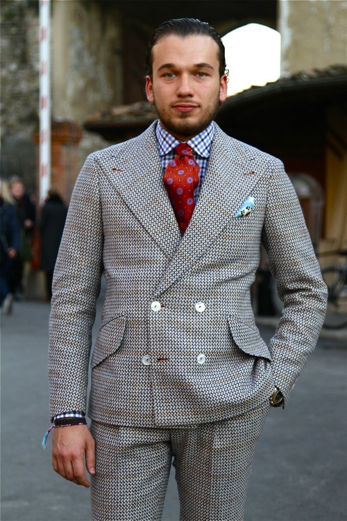"The Fashionist -  ""…Recently, Manuel kindly invited me to Pitti 2012 for a special party, related to the launch of his own collection..it was just amazing..both..the party and the collection…"""