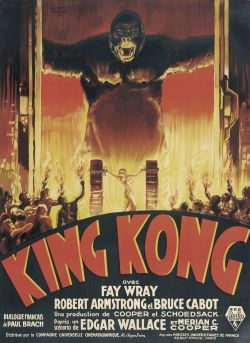 beautyandterrordance:  Right now: King Kong, 1933