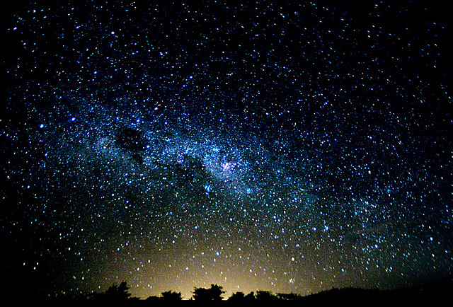 Milky Way / Via Láctea by Chaval Brasil on Flickr.
