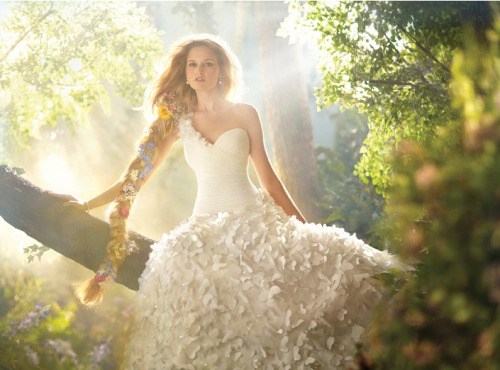 New 2012 RAPUNZEL dress by Alfred Angelo.
