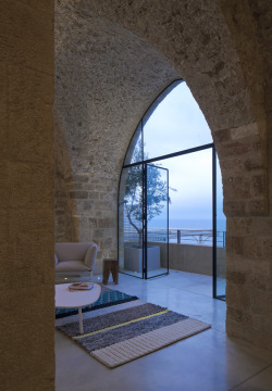 Beautiful restored Jaffa Flat by Pitsou Kedem in Tel Aviv