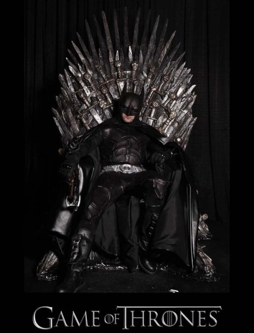 goldie55:  Batman on the Iron Throne