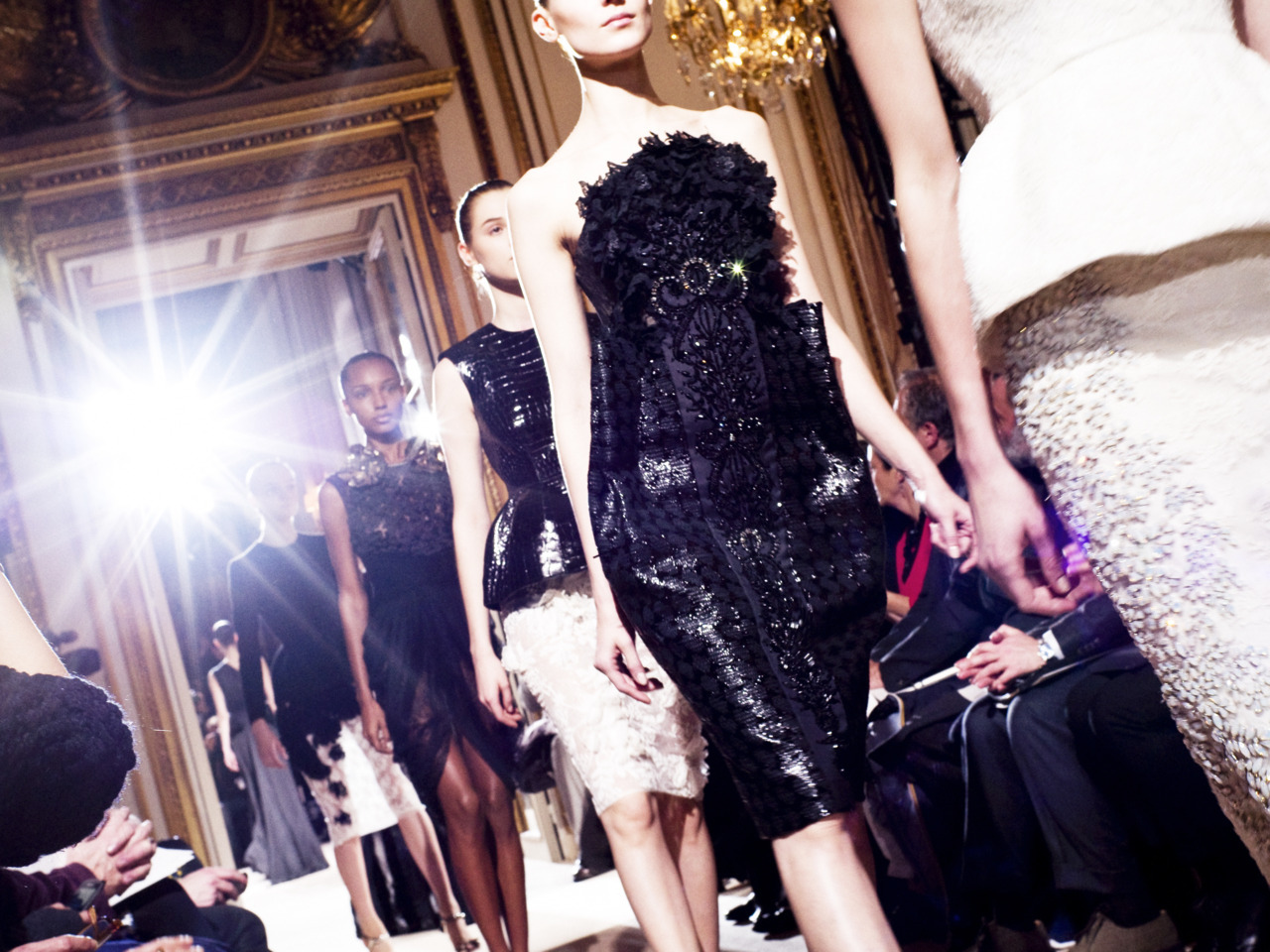 Photo by Alexis Dahan Giambattista Valli Couture Spring/Summer 2012. Be sure to keep up with all of W's latest couture coverage.