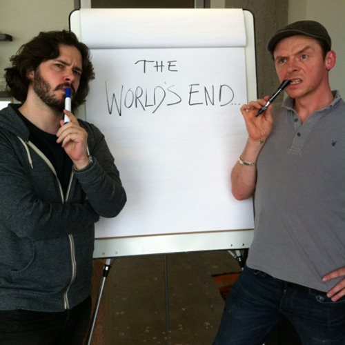 Edgar Wright teases The World's End with new pic Fans of Shaun Of The Dead and Hot Fuzz have been waiting patiently for Edgar Wright, Nick Frost and Simon Pegg to team up once more, and it seems now that work has finally begun on making that dream a reality…