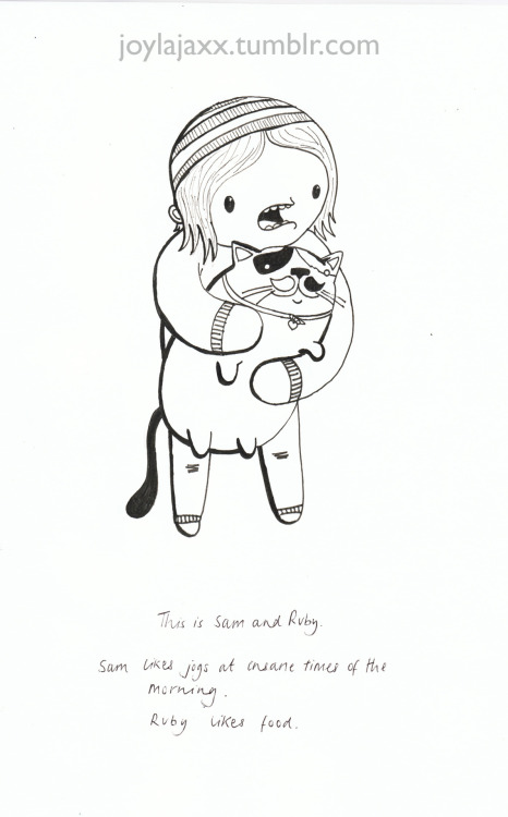 This is Sam and Ruby. - 02  Visit my shop: http://joylajaxx.bigcartel.com/