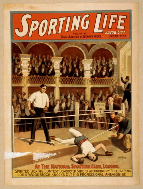 Sporting Life  written by Cecil Raleigh & Seymour Hicks Strobridge & Co. Lith.  c1898