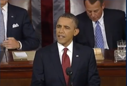 "Hope vs. Anger: How Obama's SOTU Set the Tone for 2012 ""Hope and Change: Redux"" has officially begun. Obama has started off the campaign with his greatest weapon: a rousing, feel-good speech. Read more on GOOD→"