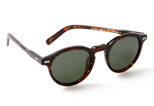 The Key to Spring Sunglasses A style that looks good on just about any face out there, the keyhole nose bridge is back in a big way for spring, with brands—like Moscot, pictured—offering updates on the classic shape. See all of our favorites here.