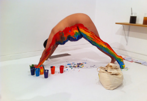 boysoprano:  Beber y Leer El Arco Iris, Naufus Ramirez-Figueroa, 2011 I hate rainbows but I'm feeling this today