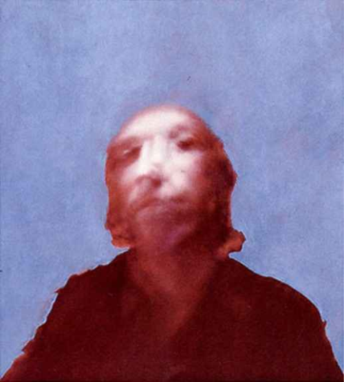Richard Hamilton (1922 − 2011) PORTRAIT OF THE ARTIST BY FRANCIS BACON 1970/71  €3,200   This was part of a series of Hamilton's where he was exploring whether painters could retain their style and visual language whilst using mechanical tools, like a polaroid camera.