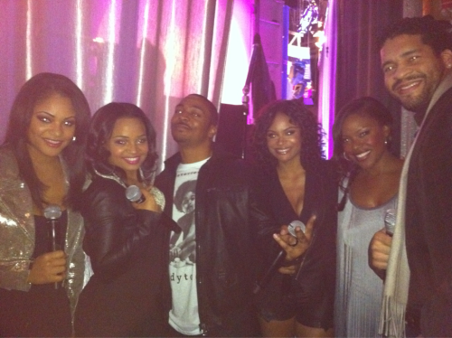 teamlst:  Moments before 106&Park!