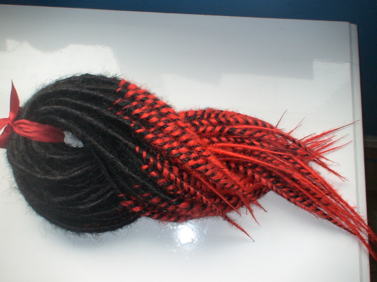 "45 Double Ended Dread Kit18"" inches longBlack and Red Transitionals"