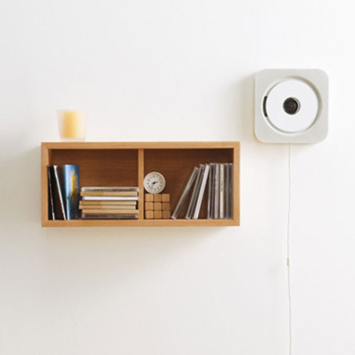 Muji wall mounted CD player by Naoto Fukasawa