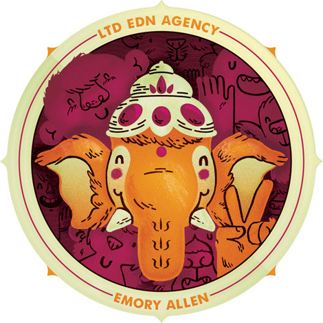 Here's my second collaboration with LTD EDN Agency—a customization of their logo! LTD EDN Agency matches artists with companies to help raise money for charity. I'm looking forward to working more with them in the future!